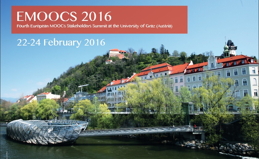 MOOC-Maker participation in EMOOCS 2016 Conference