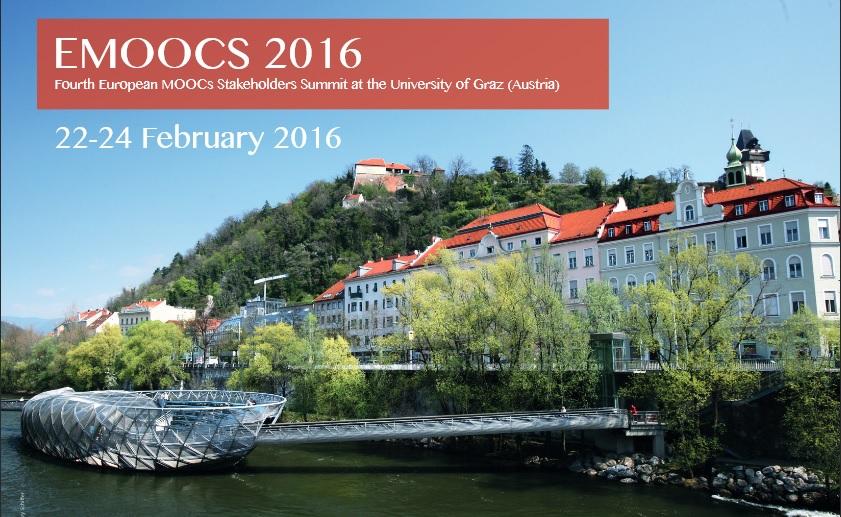 Participación MOOCMaker en congreso emoocs2016