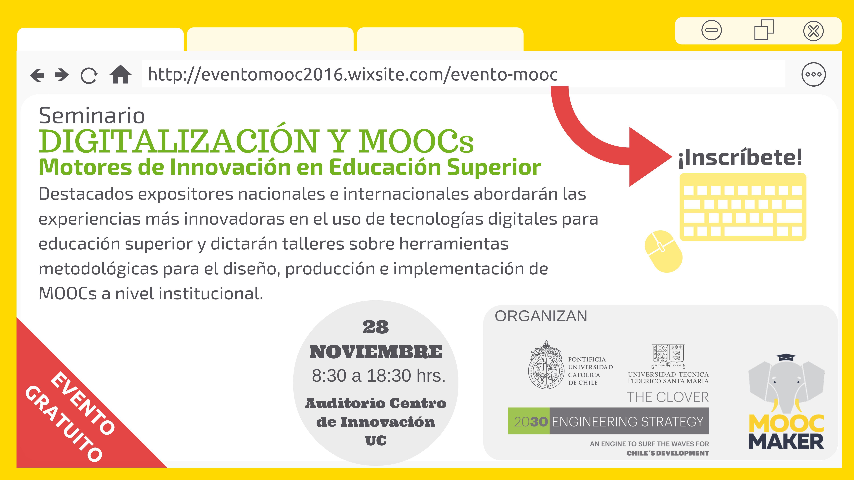 Digitalización y MOOCs, motores de innovación en Educación Superior