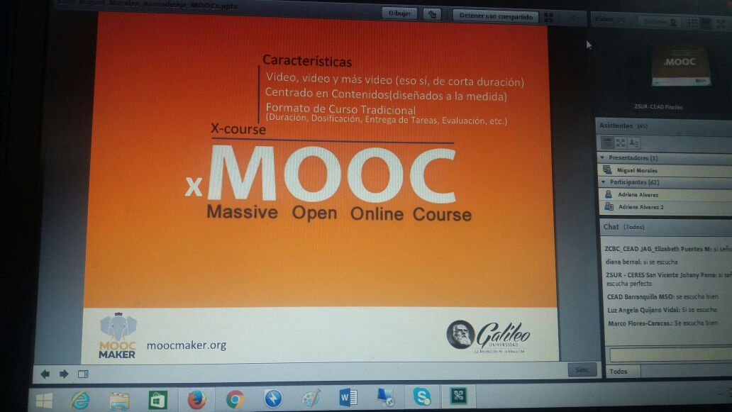 MOOC-Maker en UNAD VI Semana Internacional e-Learning
