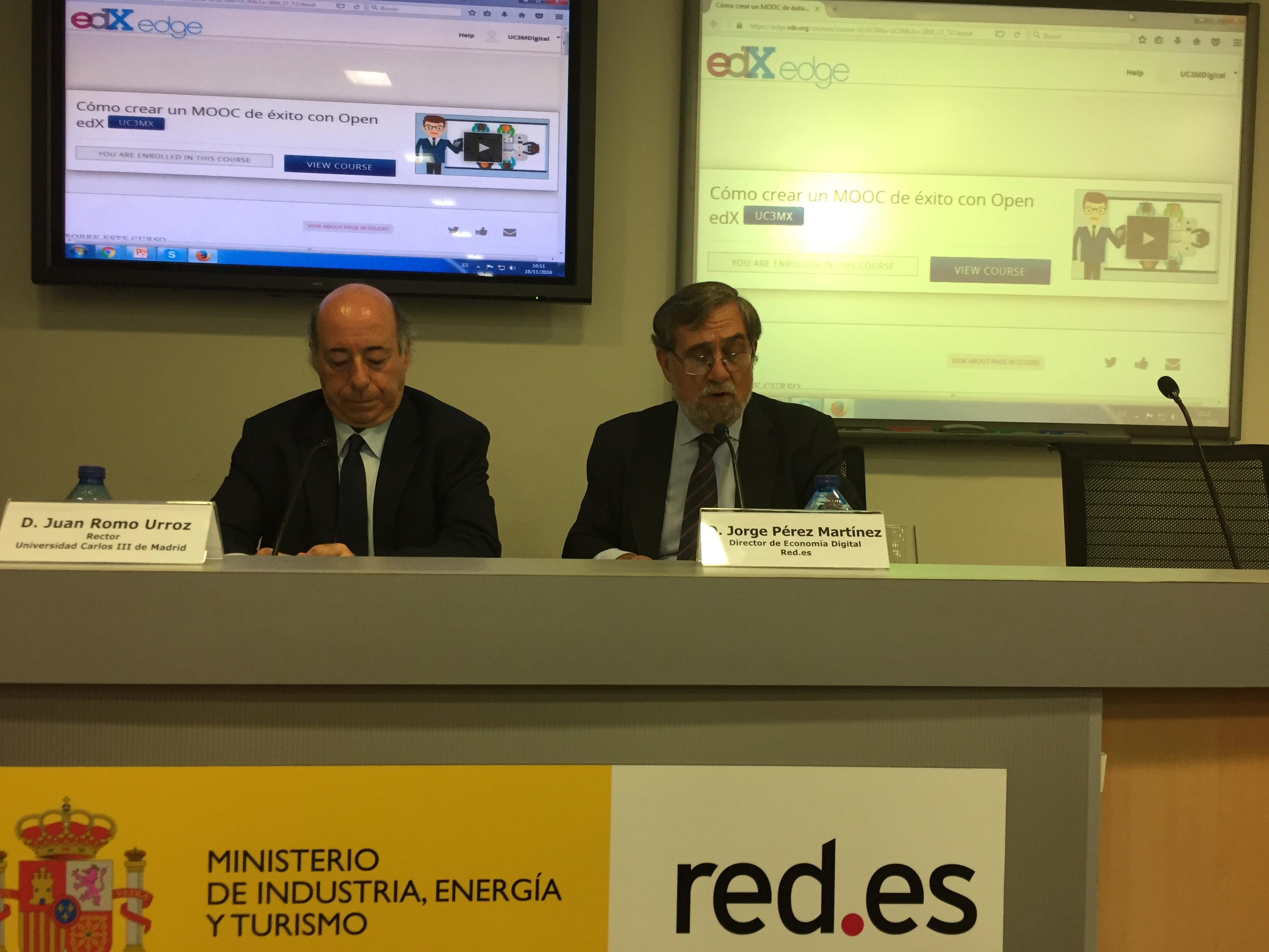 Asistentes a conferencia Red.es