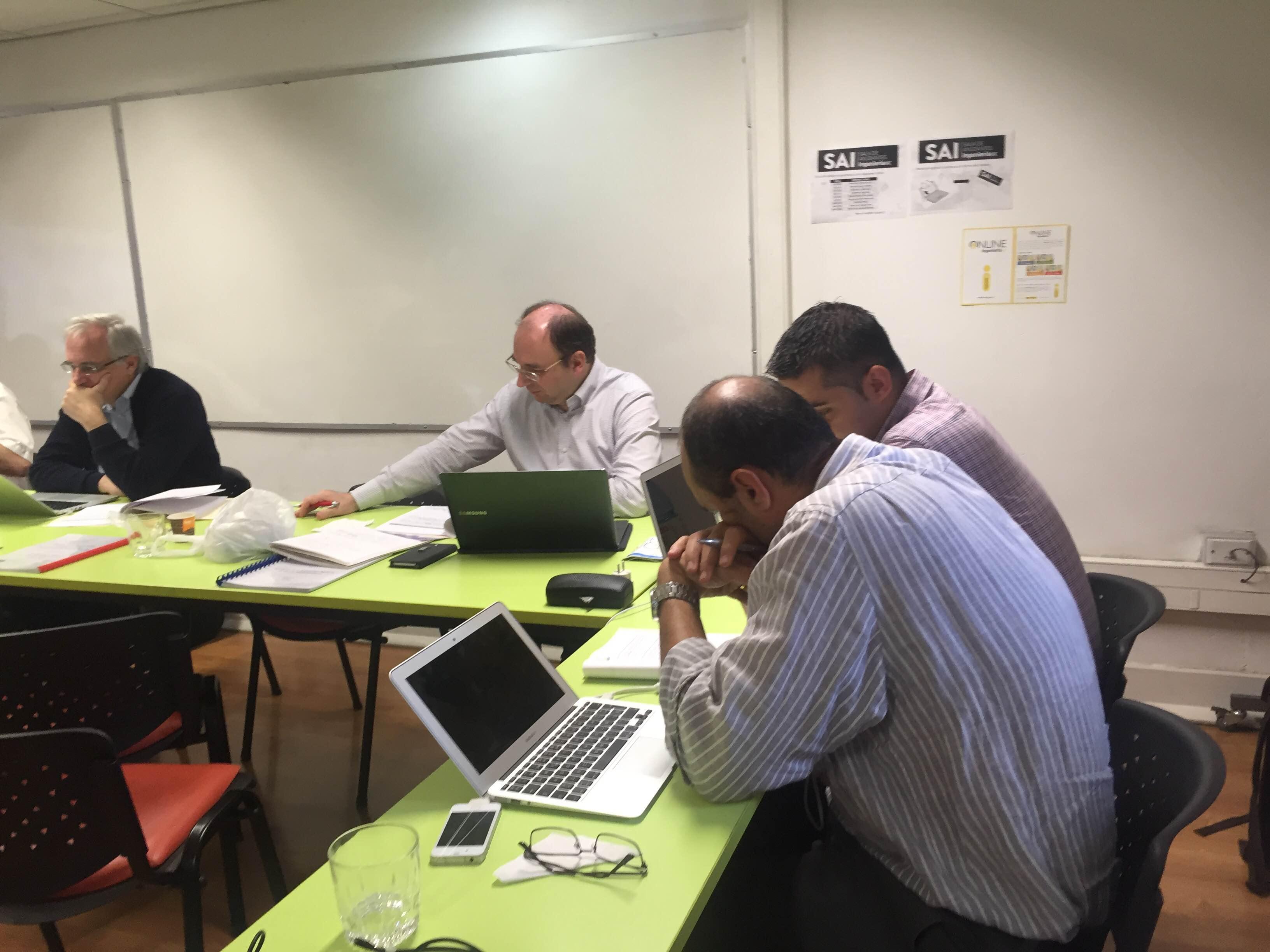 Socios durante 2da. reunión plenaria en PUC, Chile