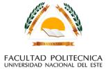 Facultad Politécnica Universidad Naicional del Este