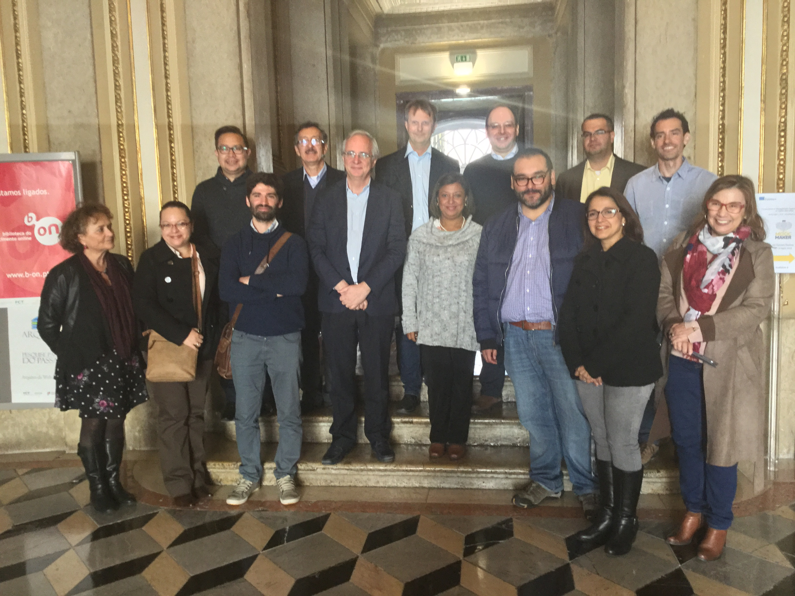5th. Plenary meeting of MOOC-Maker partners in Lisbon, Portugal