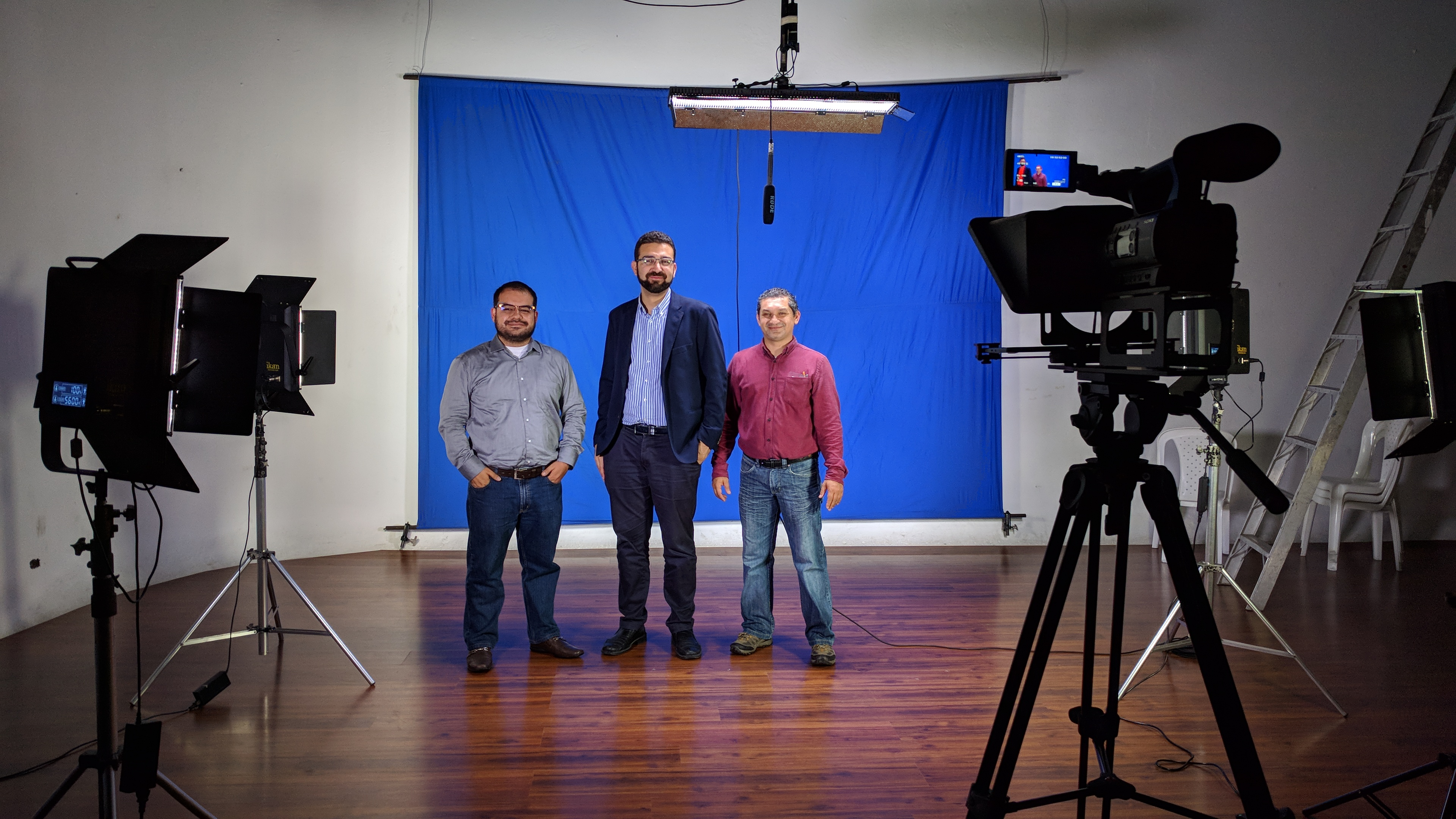 MOOCs recording studio in Universidad del Cauca