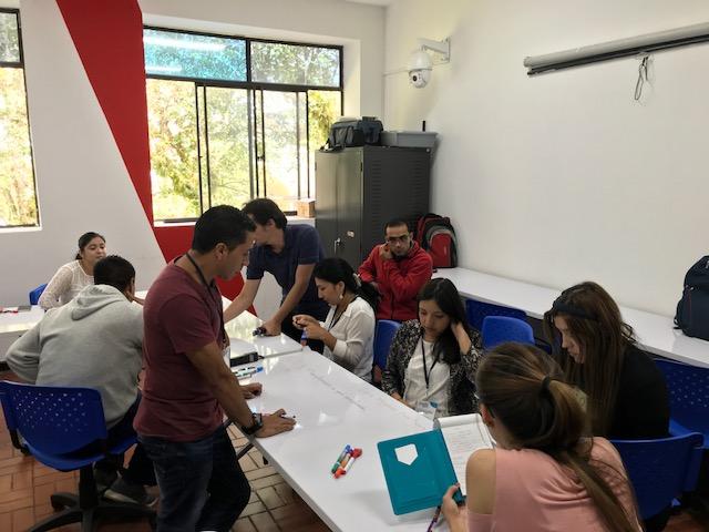 Taller de formación docente en UNICAUCA